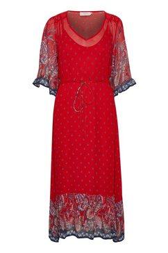 cream gedessineerde jurk »nalitacr« rot