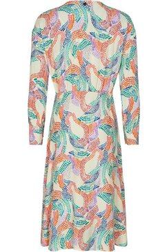 nuemph gedessineerde jurk multicolor