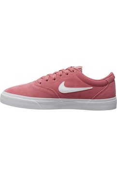nike sb sneakers »charge suede skate« roze