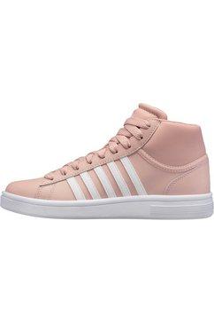 k-swiss sneakers »court winston mid w« roze