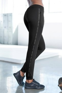 lascana active joggingbroek zwart