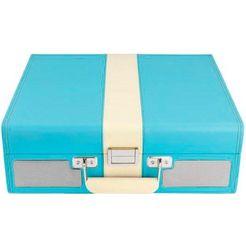 lenco platenspeler »tt-33« (riemaandrijving) blauw