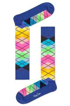 happy socks kniekousen »argyle« multicolor