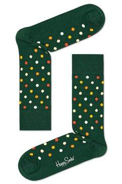 happy socks sokken »dot« groen