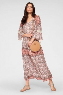 laura scott maxi-jurk beige