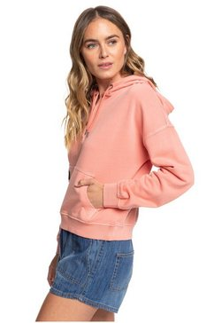 roxy capuchonsweatvest »girls who slide« roze