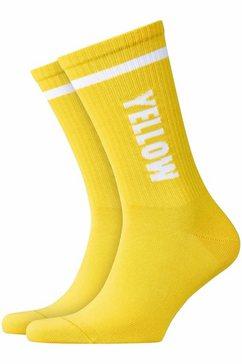 burlington sokken geel