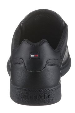 tommy hilfiger sneakers »essential corporate cupsole« zwart