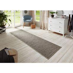 bt carpet loper »nature 400«, bt carpet, rechthoekig, hoogte 5 mm, machinaal geweven multicolor