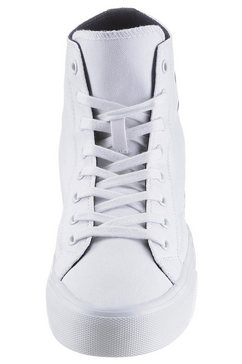 tommy jeans sneakers »midcut lace up vulc.« wit