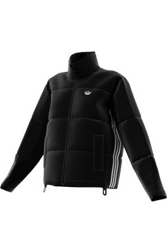adidas originals outdoorjack short puffer jack zwart