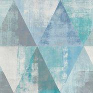 vinylbehang »hyde park« blauw