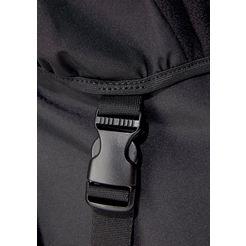 reebok classic »cl archive bagpack« sportrugzak zwart