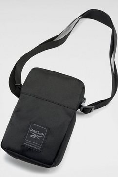 reebok schoudertas »wor city bag« zwart