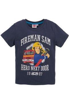 feuerwehrmann sam t-shirt blauw