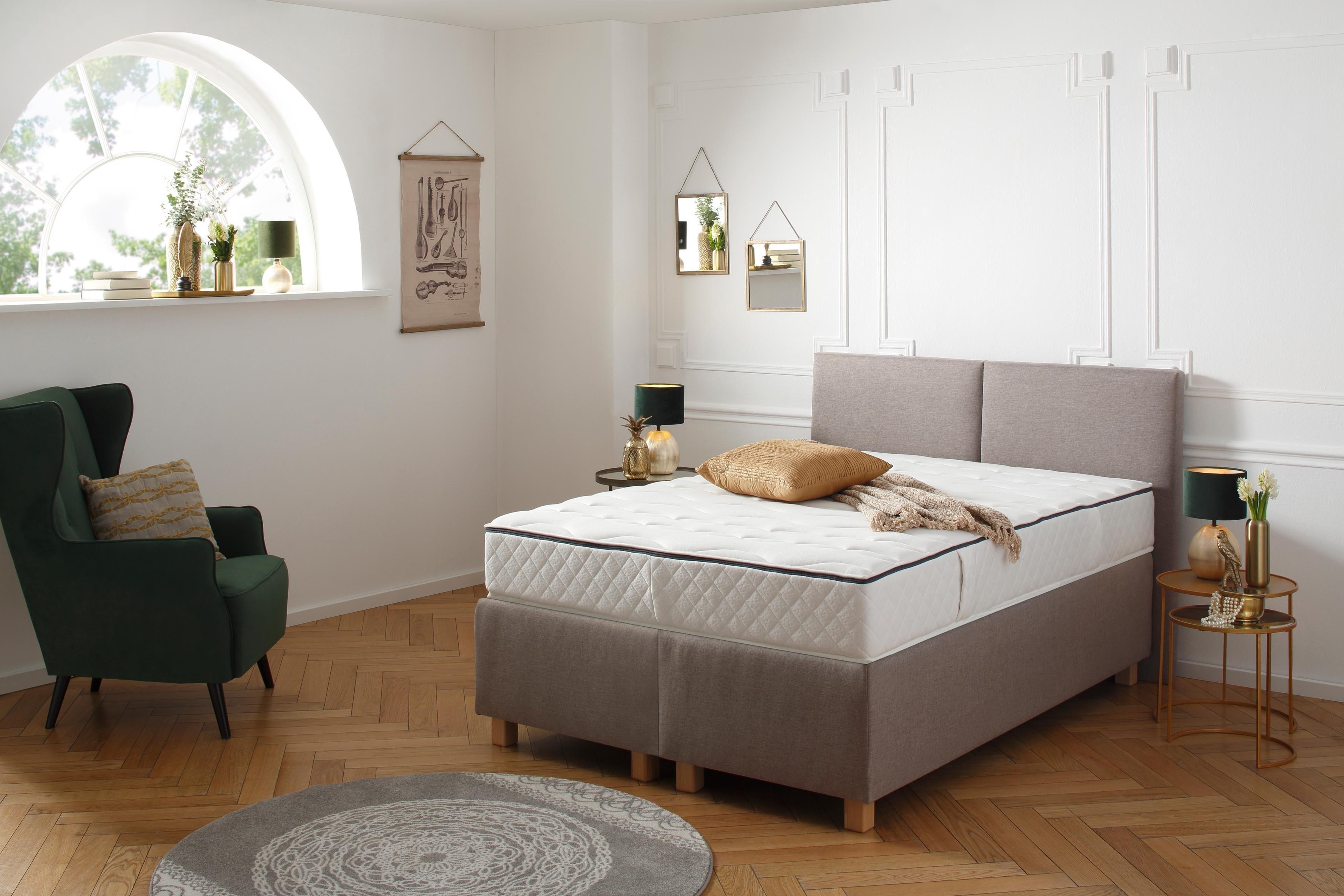 DELAVITA Pocketveringsmatras Fischa Met speciale zitrand voor gemakkelijk opstaan van het bed hoogte 27 cm - verschillende betaalmethodes