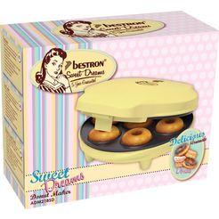 bestron »adm218sd« donut maker geel
