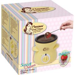 bestron »dcm043« fondue gelb