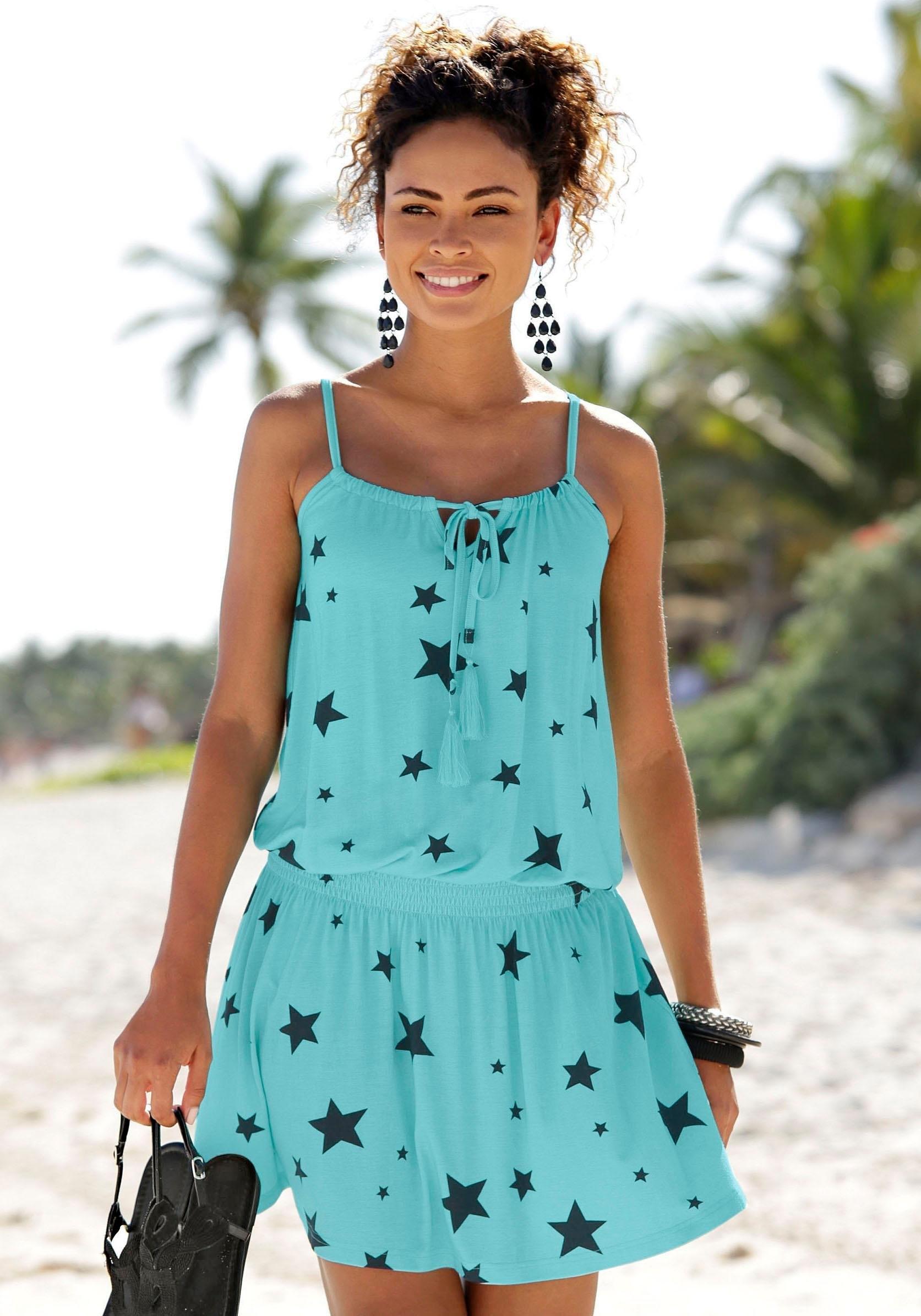 Beachtime zomerjurk met sterrenprint in de webshop van OTTO kopen