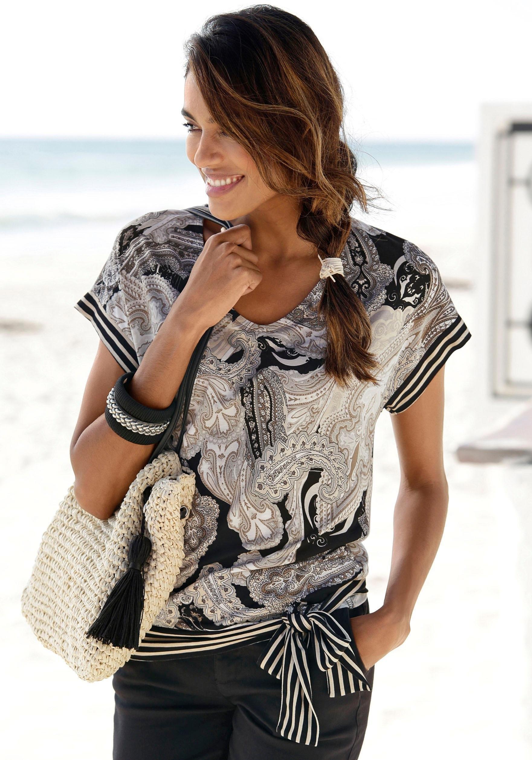 Lascana shirt met korte mouwen voordelig en veilig online kopen