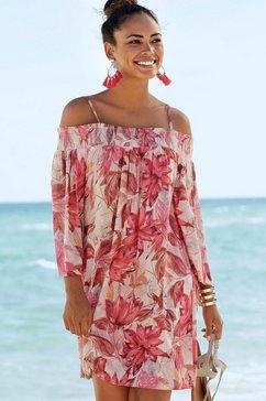 s.oliver beachwear strandjurk roze