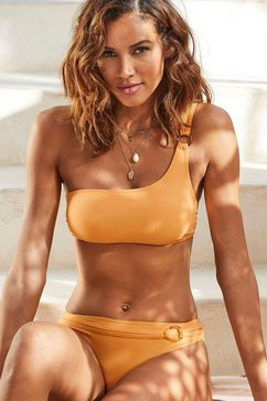 s.oliver beachwear bustierbikinitop »rome« geel