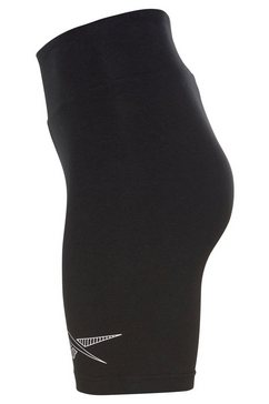 reebok classic short »cl d legging shorts« zwart