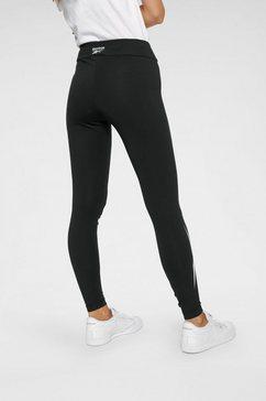 reebok classic legging »cl f vector legging« zwart