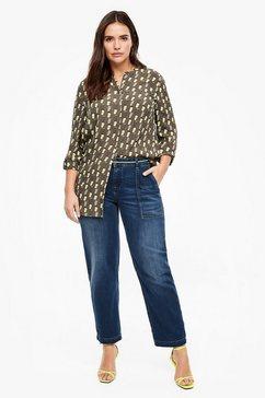 triangle curvy extra slim leg: jeans blauw