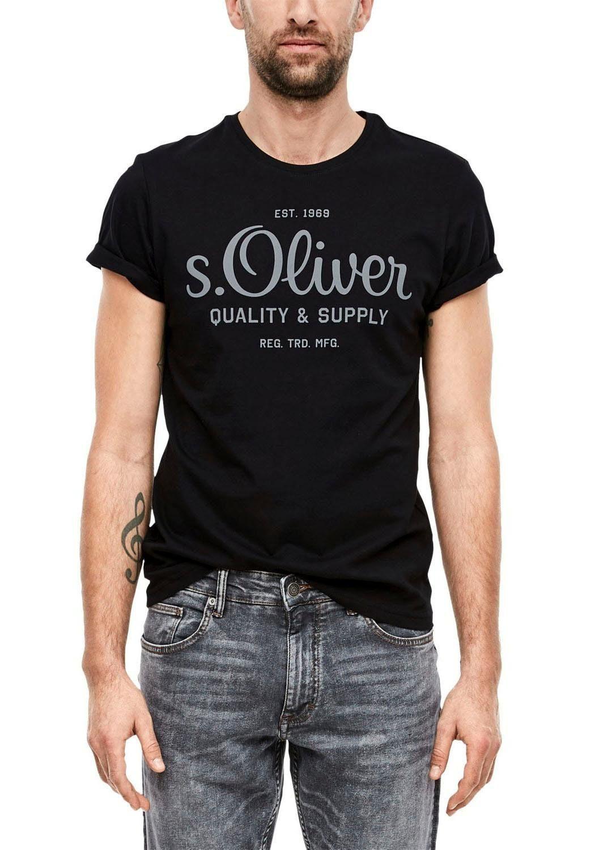 S.oliver T-shirt In De Online Winkel - Geweldige Prijs