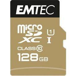 emtec »microsd uhs-i u1 elitegold« geheugenkaart goud