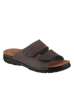 fischer slippers bruin