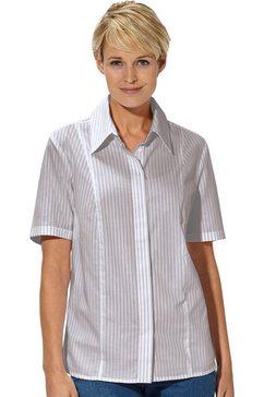 casual looks blouse van puur katoen bruin
