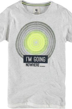 garcia t-shirt »i´m going nowhere« wit