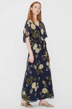vero moda maxi-jurk »vmlucca« blauw
