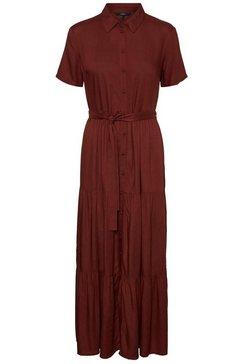 vero moda maxi-jurk »vmoksana« bruin