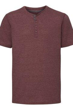 russell t-shirt »herren henley hd« bruin