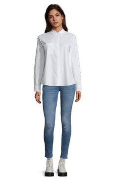 cartoon overhemdblouse met kraag wit