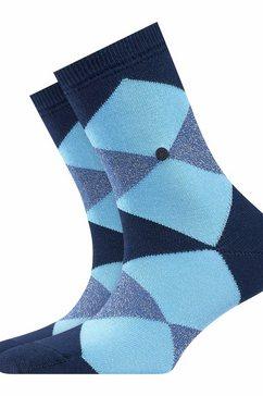 burlington sokken blauw