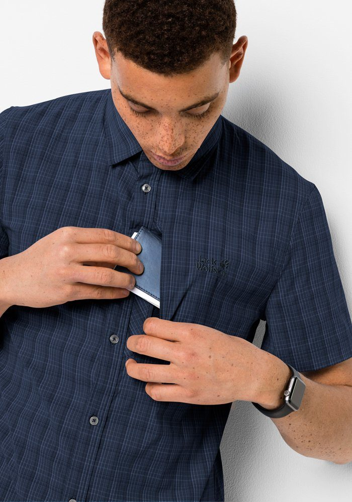 Jack Wolfskin Outdooroverhemd Rays Stretch Vent Shirt M Online Verkrijgbaar - Geweldige Prijs