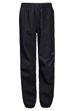 jack wolfskin regenbroek »rainy days pants kids« zwart