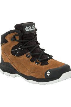 jack wolfskin outdoorschoenen »mtn attack 3 lt texapore mid k« bruin