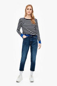 s.oliver boyfriend jeans blauw