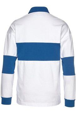 united colors of benetton poloshirt met lange mouwen wit