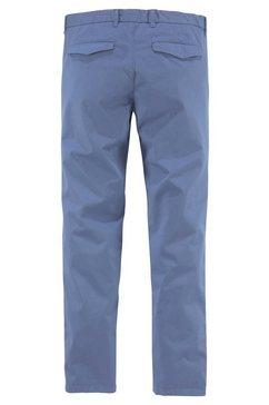 united colors of benetton geweven broek blauw