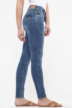 le temps des cerises skinny fit jeans »power high« blauw