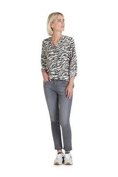 public casual blouse »langarm« zwart