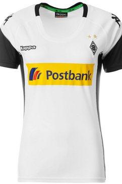 kappa voetbalshirt »borussia moenchengladbach 17-18 heim« wit