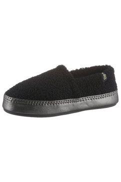 flip flop pantoffels »homie*teddy metallic« zwart