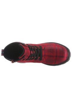 tom tailor hoge veterschoenen rood